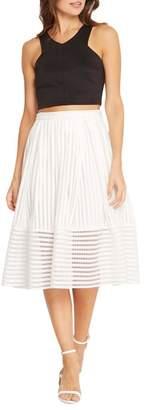 Soprano A-Line White Skirt