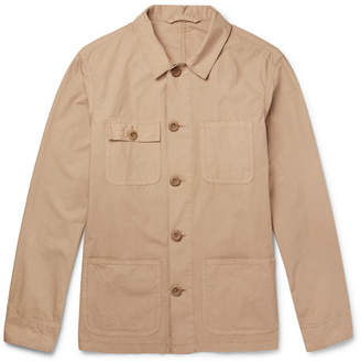 Altea Cotton-Poplin Shirt Jacket