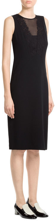 DKNY DKNY Tailored Dress with Lace