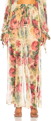 Zimmermann Melody Wide Leg Pant