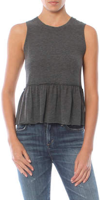 Nation Ltd. Lafayette Peplum Crop Tee