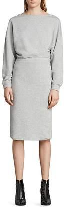 AllSaints Chrissy Sweatshirt Dress