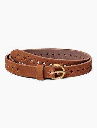 Lucky Brand SUEDE PERFORATED BELT