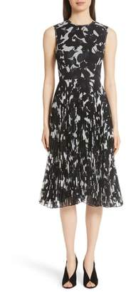 Jason Wu Pleated Chiffon Dress