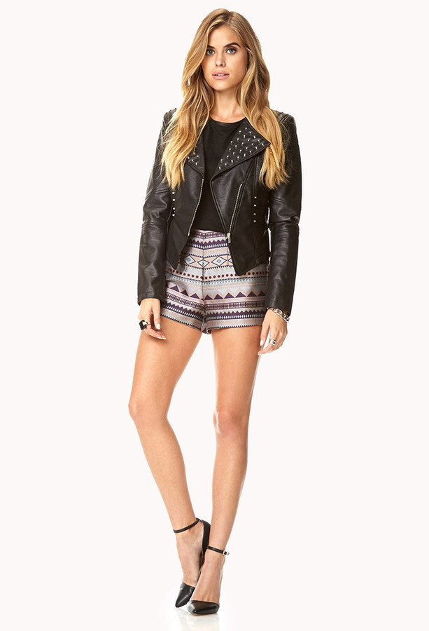 LOVE21 LOVE 21 Wordly Woven Shorts