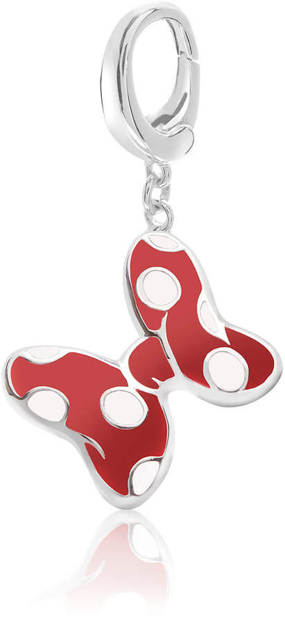 Minnie Mouse Red Bow Charm - Disney Designer Jewelry Collection