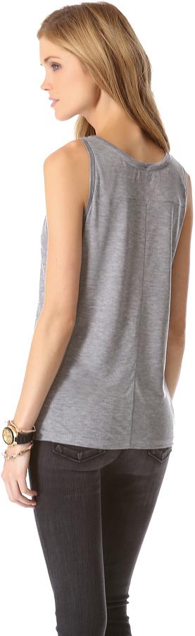 J Brand Ready-to-Wear Nikki Tank