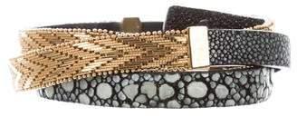 Givenchy Stingray Waist Belt w/ Tags