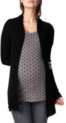 Noppies 'Anne' Rib Knit Maternity Cardigan