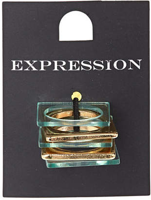 HBC EXPRESSION Five-Piece Square Ring Set