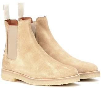 Common Projects Chelsea suede ankle boots