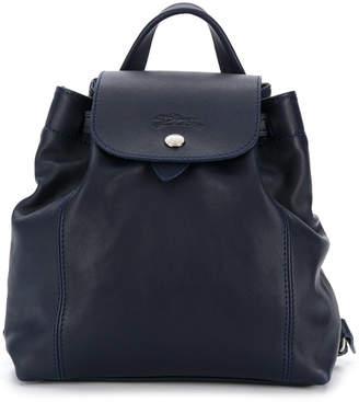 Longchamp small flap backpack