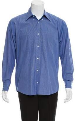 Hermes Long-Sleeve Button-Up Shirt