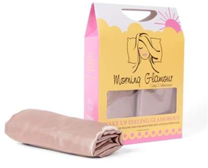 Morning Glamour Signature Box 2 Pack Satin Pillowcases Gold