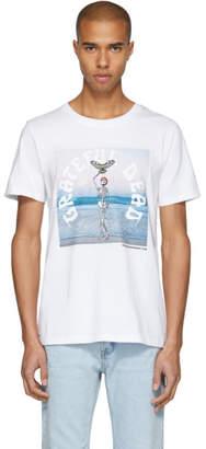 Stolen Girlfriends Club White Grateful Dead Moon Beach T-Shirt