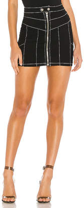 superdown Rhonda Contrast Stitch Skirt