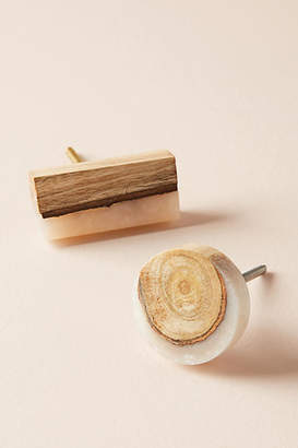 Anthropologie Frosted Timber Knob