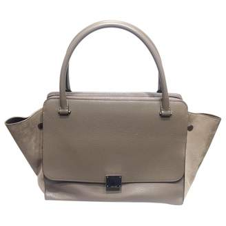 Celine Trapèze leather handbag