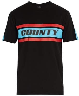 Marcelo Burlon County of Milan County Print Crew Neck Cotton T Shirt - Mens - Multi