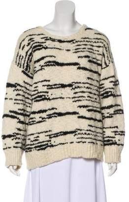 IRO Long Sleeve Merino Wool Sweater