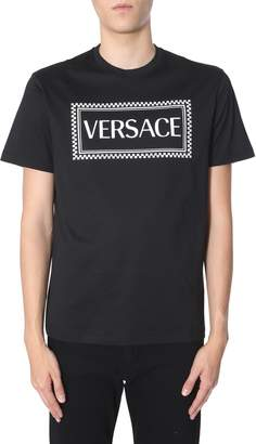 Versace t-shirt with 90s logo print