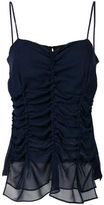 Carven georgette tank top