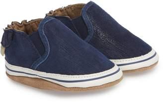 Robeez R) Liam Slip-On Crib Sneaker