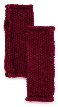 Rebecca Minkoff Rolled-Edge Fingerless Gloves