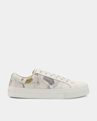 Ted Baker EPHIELP Printed leather sneakers