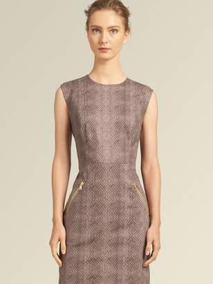 DKNY Snake-Print Sheath Dress