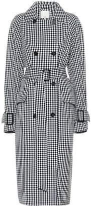 Tibi Gingham coat