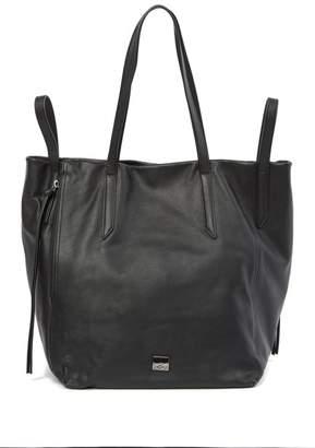 Kooba Leather Zip Tote Bag