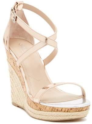 Charles by Charles David Aden Metallic Platform Wedge Sandal