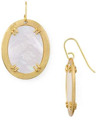 Stephanie Kantis Life Oval Earrings