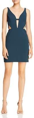 Aidan Mattox Cutout Scuba Crepe Dress - 100% Exclusive