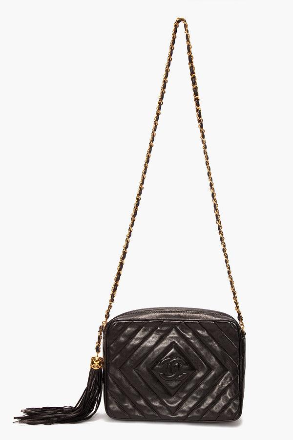 Chanel vintage DIAMOND TASSLE BAG