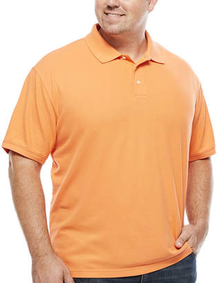 Co THE FOUNDRY SUPPLY The Foundry Big & Tall Supply Short Sleeve Solid Easy Care Polo