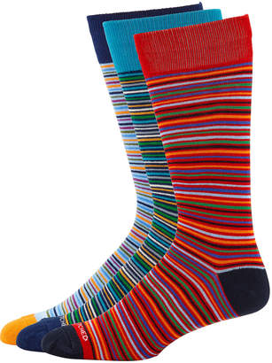 Unsimply Stitched Men's Striped Socks, 3 Pack