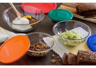 Pyrex 8-Piece Smart Essentials Mixing Bowl Set
