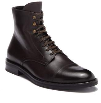 To Boot Henri Cap Toe Leather Boot