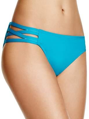 Carmen Marc Valvo Solid Bikini Bottom