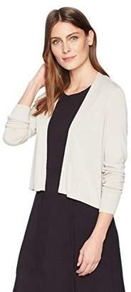 Lark & Ro Amazon Brand Women's Lightweight Long Sleeve Cropped Cardigan Sweater