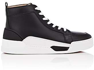 7011a1b90fe Christian Louboutin Men s Rankick Flat Leather Sneakers - Black