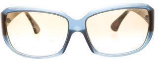 Thakoon Oversize Gradient Sunglasses
