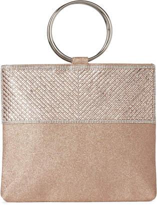 Sasha Shimmer Embellished Convertible Ring Handel Bag