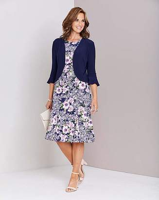 498eea14e Julipa Print Dress with Shrug. 39''