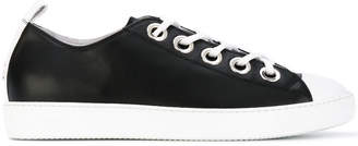 No.21 lace-up sneakers