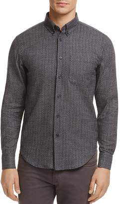 Naked & Famous Denim Printed Button-Down Regular Fit Shirt
