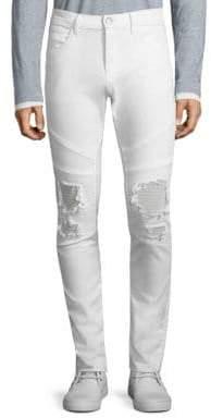 J Brand Bearden Moto Chop Jeans