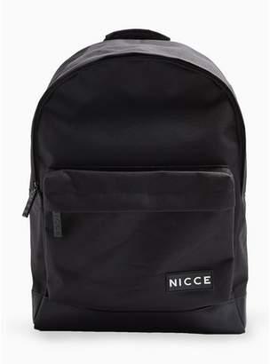 Nicce Mens Black Backpack